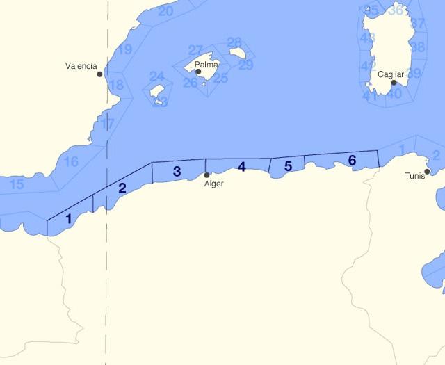 Carte Meteo Algerie 10 Jours.Meteo Marine Algerie Prevision Meteo Zones Cotieres A 14