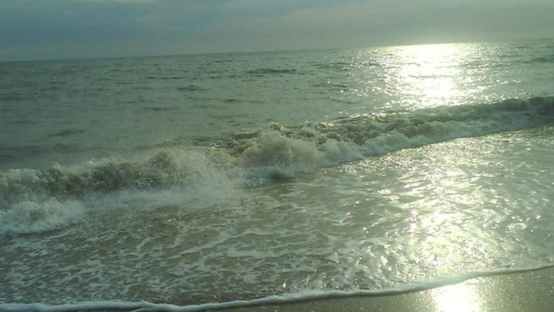 la plage est petite