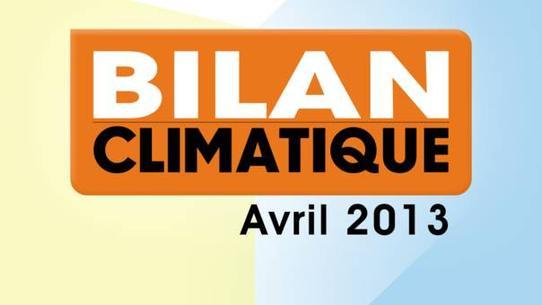 Bilan climatique d'avril 2013