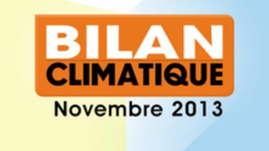 Bilan climatique de novembre 2013