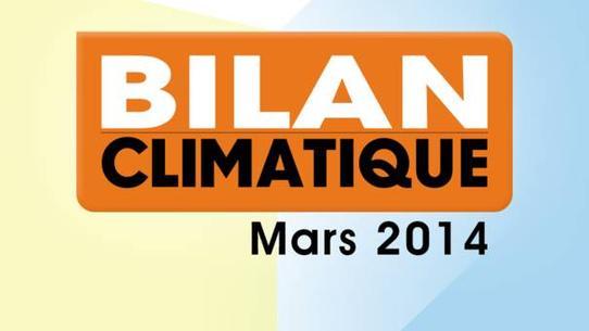 Bilan climatique de mars 2014