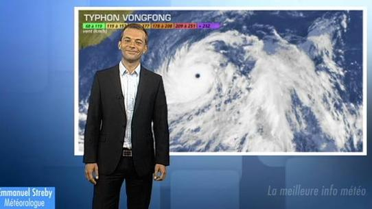 Super-typhon Vongfong : nouvelle menace pour le Japon