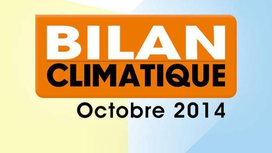 Bilan climatique d'octobre 2014