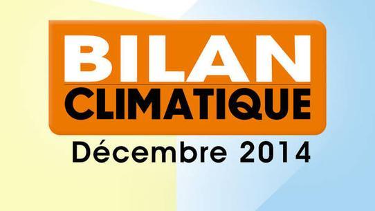 Bilan climatique de décembre 2014