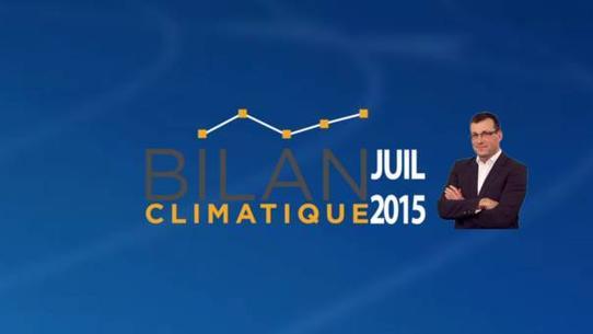 Bilan climatique de juillet 2015