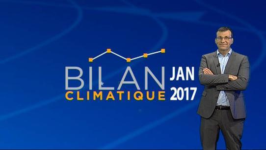 Bilan climatique de janvier 2017