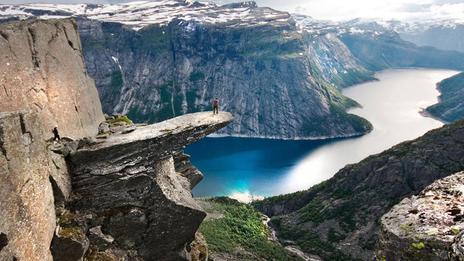 La Norvège, pays des fjords par excellence