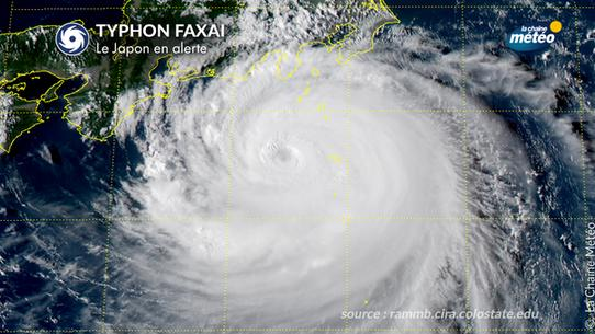 Japon : le typhon Faxai fait une trentaine de blessés
