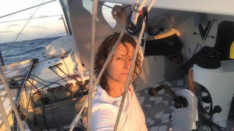 Isabelle Joschke « En 2020 c'est assez dur d'être seul sur son bateau »