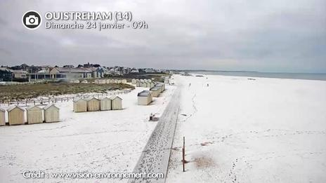 DIRECT neige : attention au verglas ce matin, neige en Normandie