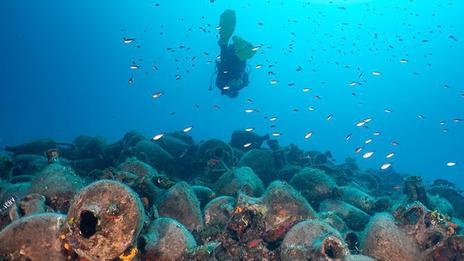 Grèce: au musée sous-marin d'Alonissos, on plonge dans l'histoire
