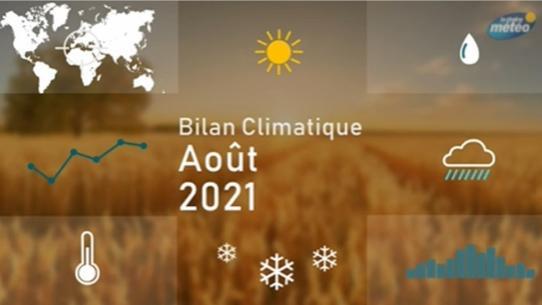 Bilan climatique d'août 2021