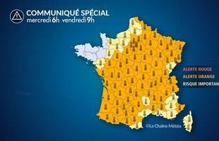 Canicule sur la France
