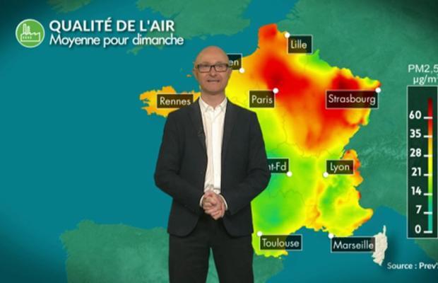Episode de pollution en France cette semaine