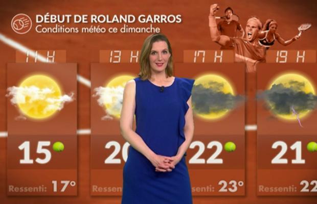 Roland-Garros : une météo presque idéale dimanche