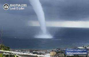 Direct orages en Corse : début de l'amélioration