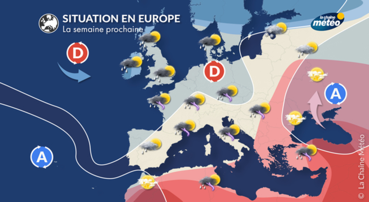 Semaine prochaine : forte dégradation orageuse - La Chaîne Météo