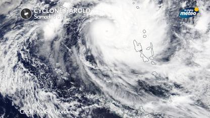 Cyclone Harold : la Nouvelle-Calédonie et les îles Vanuatu touchées