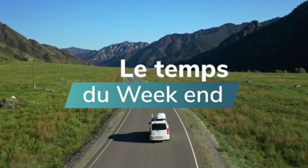 Météo week-end : redoux pluvieux et venté - La Chaîne Météo