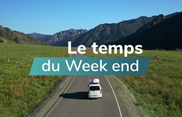 Week-end : lent redoux par l'ouest et retour des pluies